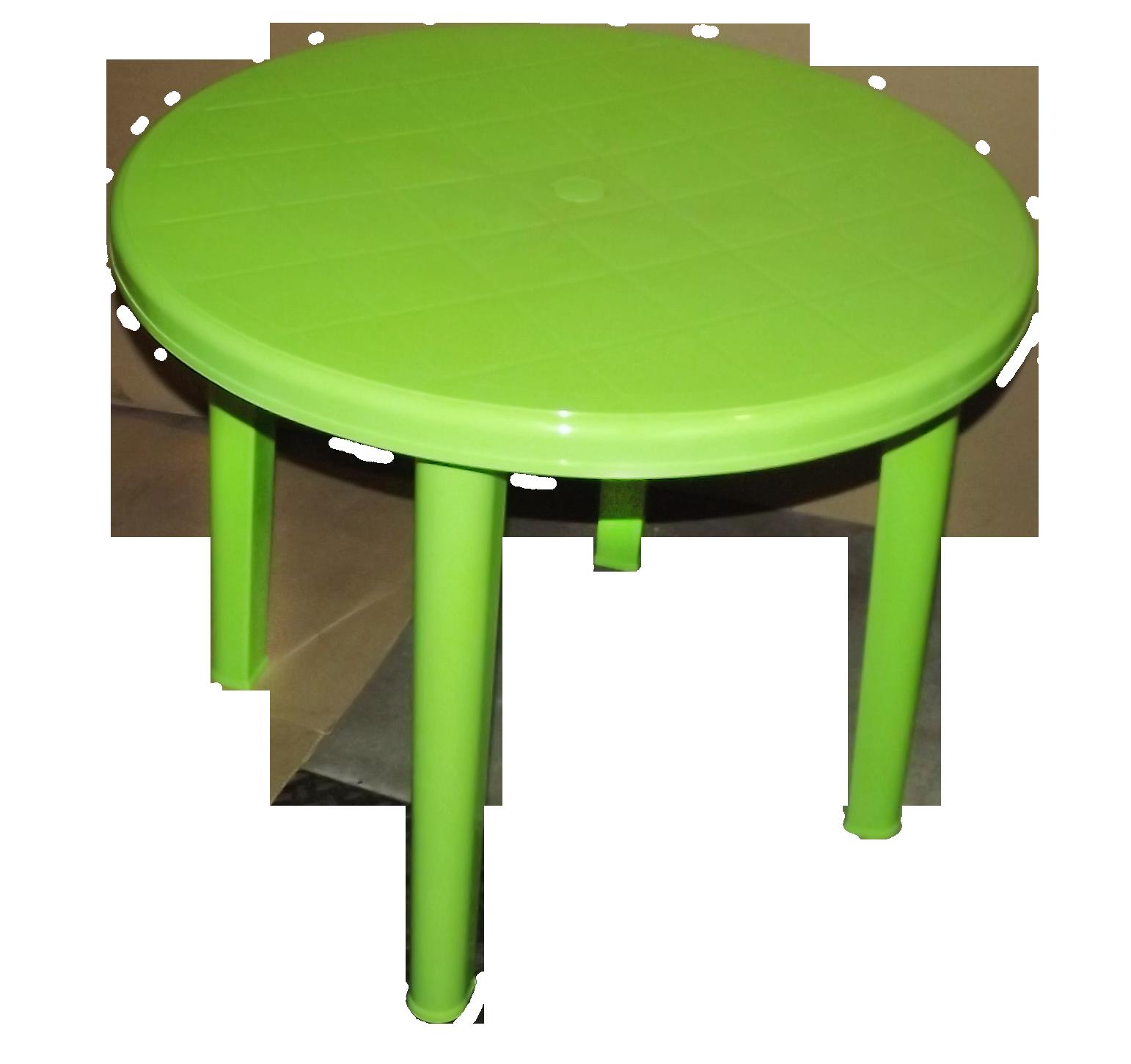 Пластиковый стол для дачи