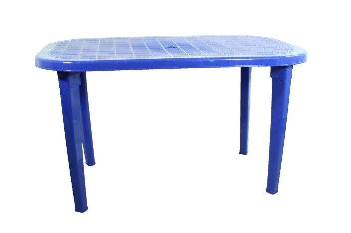 Стол овальный «Романтик» синий
